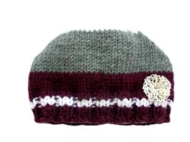 Newborn - Mütze/bordeaux