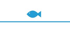 Menükarte Fischform für die Kommunion/Konfirmation, Design Fisch