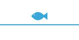 Platzkarte Fischform für die Kommunion/Konfirmation, Design Fisch