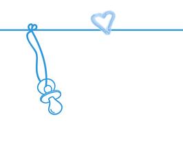 Spielkiste Taufe, Design Herz