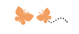 Give away Lutscher Schmetterlinge