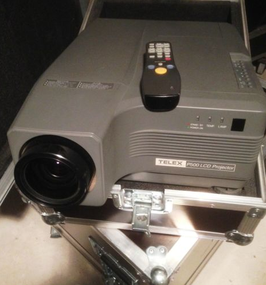 PHILIPS TELEX 500 VIDEO PROJECTEUR