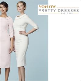 Kennedy Pencil Dress ivory