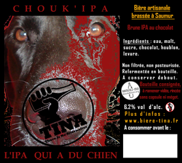 """TINA """" Chouk'IPA """" 6.2% vol."""