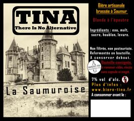 """TINA """"La Saumuroise""""  7% vol"""