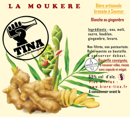 "TINA "" La Moukère ""  5.5% vol."