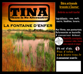 "TINA "" Fontaine d'enfer "" 9% vol."