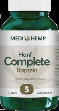 Medi Hemp CBD Kapseln 5% - 30 Stück