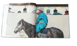 Fotobuch Mongolei: Eine Reise zwischen Himmel & Erde