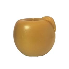 Bougie pomme jaune or