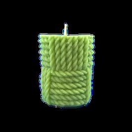 Cylindre avec tissage vert