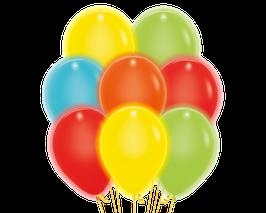 """5 LED Luftballons ca. 30cm Durchmesser in vielen Farben,Set """"1"""""""