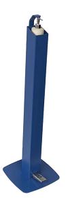 Location de borne de gel hydroalcoolique sans contact des mains