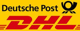 Versand per Post / DHL 2. Paket