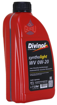 Divinol syntholight WV 0W-20 Motoröl 1Liter