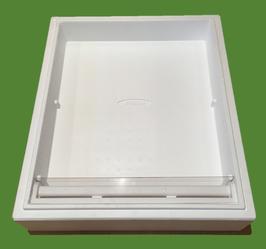 BeeBox Futterzarge 10 liter mit Plexiglas