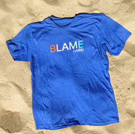 "Blame Laird ""Sunset Blue Tee"""