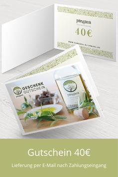 Pangaea 40€ Gutschein