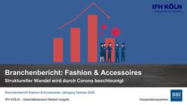 IFH-Branchenbericht Fashion & Accessoires