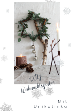 DIY Weihnachtszauber Digitales Produkt - DIY Video Anleitungen für Weihnachten