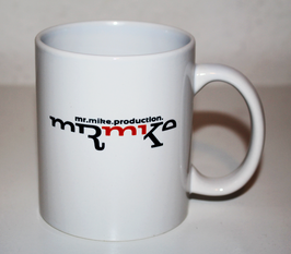 MrMike Production Tasse – beidseitig bedruckt