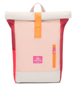 Johnnys Urban Kinderrucksack Aaron Multi Rosa