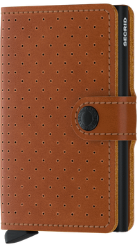 Secrid Miniwallet Perforated Cognac