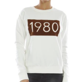 "SWEAT ECRU ""1980"""