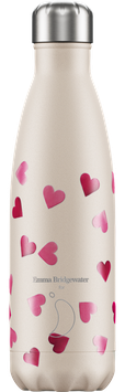 Bouteille isotherme 260ml Coeurs Roses CHILLY'S