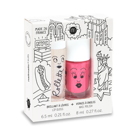 Coffret New York rollette coco + vernis Kitty NAILMATIC KIDS