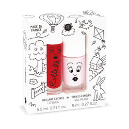 Coffret New York rollette cerise + vernis Bella NAILMATIC KIDS