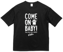 """""""COME ON BABY!""""  Big Silhouette T-Shirt"""