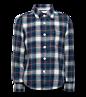 AO76 Mike shirt kariert