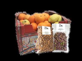Cassetta mista con Agrumi e Frutta secca