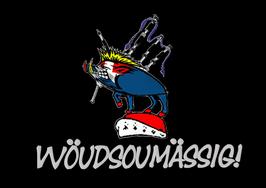 """WBC Fan T-Shirt """"wöudsoumässig""""! Schweiz!"""