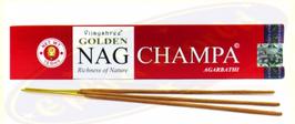 Golden Nag Champa Agarbathi Räucherstäbchen