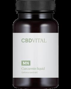 CBD-VITAL -  Curcumin liquid, 60 Kapseln