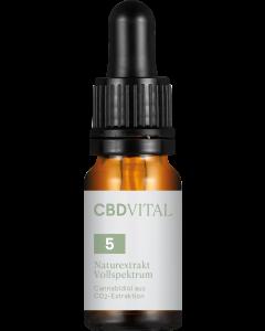 CBD-VITAL - CBD-Öl Naturextrakt 5%