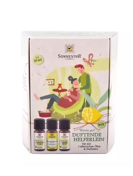 Duftende Helferlein ätherische Öle Geschenkset - Sonnentor