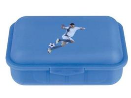 Fußball - Brotbox m. 1 Trennsteg - Emil