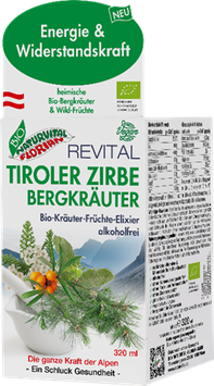 Tiroler-Zirbe-Bergkräuter Elixier 320ml
