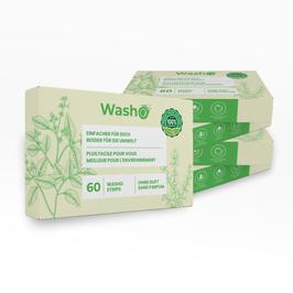 300 Washo's ohne Duft, biologisch abbaubar
