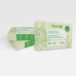 180 Washo's ohne Duft, biologisch abbaubar