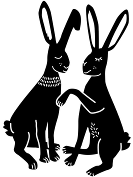 STEMPEL Hasenpaar (M)