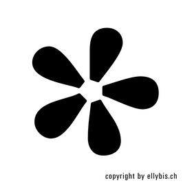 Stempel Klein (35) – 5er Blume