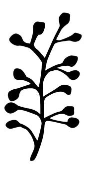 STEMPEL Tupfenzweig (S)