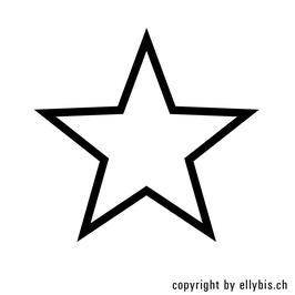 "Stempel ""MIDI"" oder ""MINI"" (26)  – Stern Outline"