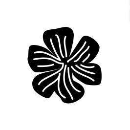 STEMPEL MINI – Blume Streifen