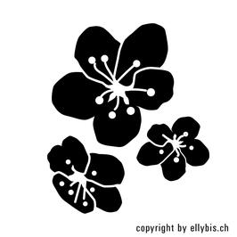 """Stempel """"MIDI"""" – Frühlingsblumen"""