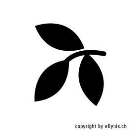 "Stempel ""MIDI"" oder ""MINI"" (50) – 3er Blattzweig"
